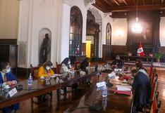 Consejo de Estado se reunió hoy en Palacio para analizar situación política actual