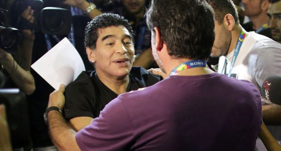 Conoce a quién postuló Maradona como entrenador de Argentina