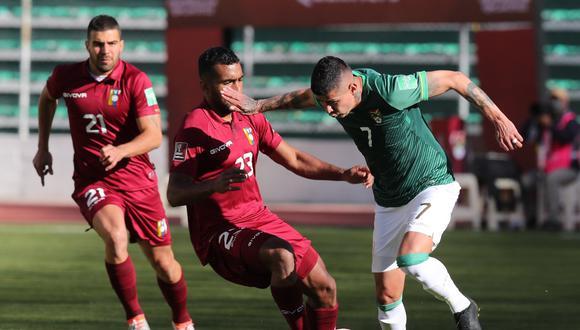 Bolivia se enfrenta a Venezuela en el partido que abre la fecha 7 de las Eliminatorias Qatar 2022   Foto: EFE