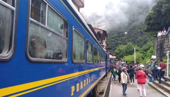 PeruRail negó haber suspendido el Tren Local. (Foto: Andina)