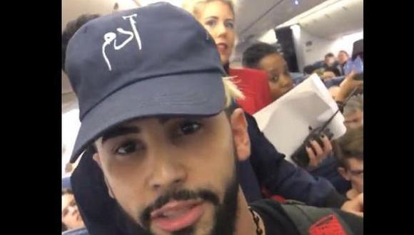 """""""Delta Airlines nos echó por hablar en árabe"""" [VIDEO]"""