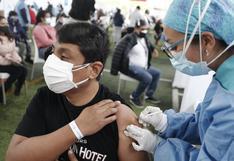 Vacuna contra el coronavirus: más de siete millones 467 mil de peruanos ya fueron inmunizados