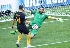 Chile vs. Australia: Troisi sorprendió a Claudio Bravo con esta gran definición