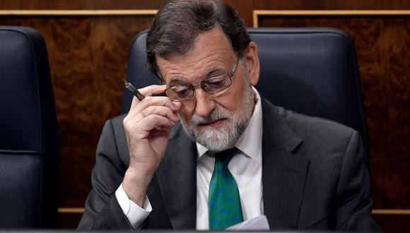 Mariano Rajoy. (AFP).