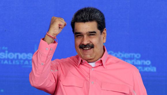 El presidente de Venezuela Nicolás Maduro. (Foto: AFP).