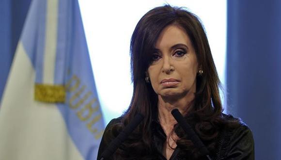 La ex mandataria y actual senadora de Argentina,Cristina Fernández. (Foto: AFP)