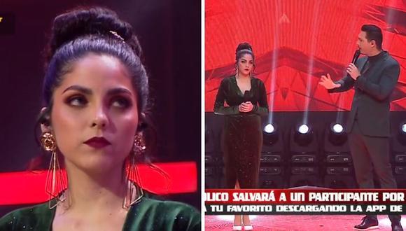 """Oriana Montero fue criticada por la decisión de paralizar su canción el pasado martes en """"La Voz Perú"""". (Foto: Captura Latina)."""