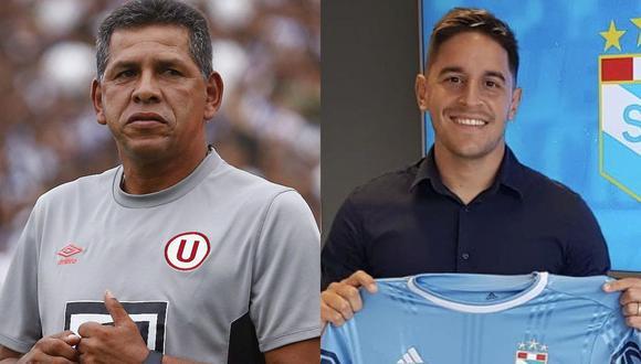Fiel a su estilo, el 'Puma' Carranza opinó acerca del fichaje de Alejandro Hohberg por Sporting Cristal luego de vestir la camiseta de Universitario de Deportes. (Fotos: GEC/Twitter de Cristal)