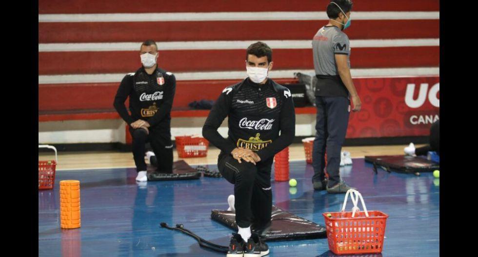 Selección peruana inició entrenamientos en la Videna. (Foto: Prensa FPF)