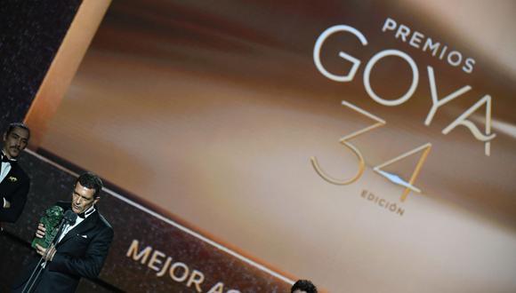 La junta directiva de los Premios Goya 2021 han comunicado los cambios en el criterio para considerar a una película entre sus nominadas. (AFP).