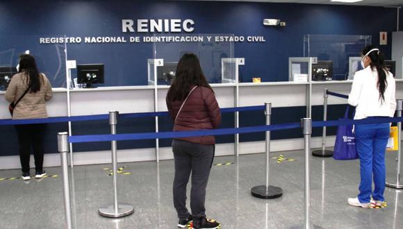 Reniec: ¿En qué locales de Lima y Callao entregarán DNI los sábados? .