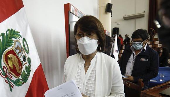 """En su carta, que fue difundida a los medios de comunicación tras el anuncio del presidente Sagasti, Mazzetti señala que se inmunizó contra el coronavirus """"ante la inseguridad y miedo"""" por la segunda ola. (Foto: El Comercio)"""