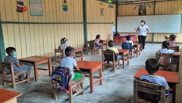 El ministro de Salud, Hernando Cevallos, indicó que la inmunización de los maestros depende del stock de vacunas y de que los laboratorios cumplan con entregar las dosis en las fechas indicadas.   (Foto: Minedu)