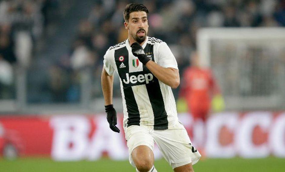 Sami Khedira se perderá el Atlético Madrid vs. Juventus por un problema en el corazón. Hace pocas horas fue intervenido a causa de una arritmia. (Foto: AP)