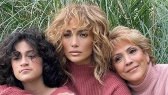 Jennifer Lopez le dirigió un mensaje especial a Guadalupe Rodríguez en pleno Día de la Madre.  (Foto: @jlo / Instagram)