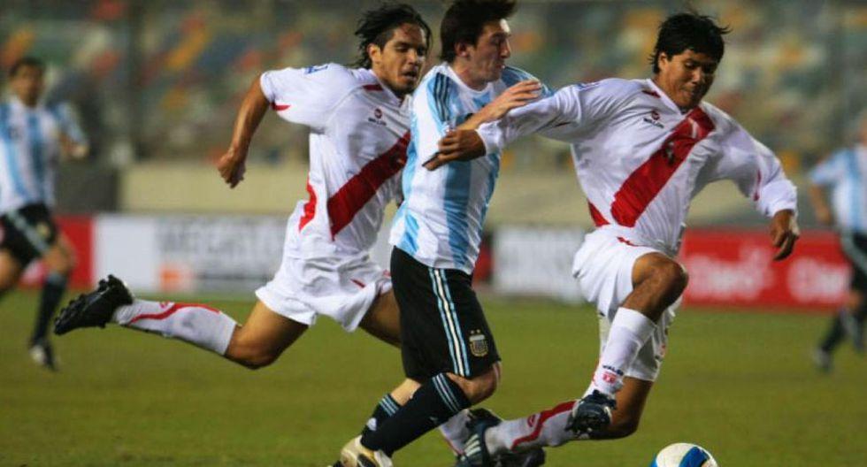 Eliminatorias Sudáfrica 2010: Perú empató sobre la hora (1-1) contra Argentina en el Estadio Monumental. (Foto: Agencias)