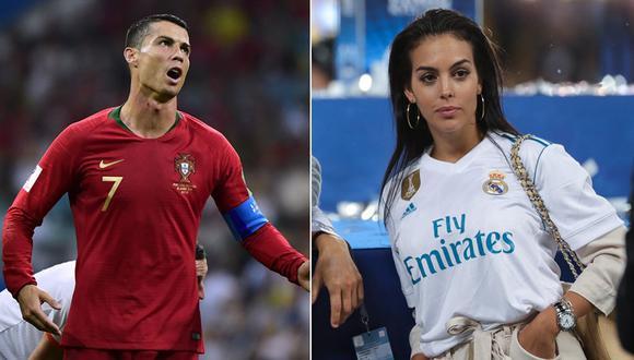 Cristiano Ronaldo y Georgina Rodríguez. (Fotos: Agencias)
