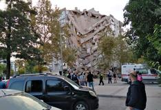 Primeras imágenes del potente terremoto que sacudió el oeste de Turquía y varias islas griegas   FOTOS
