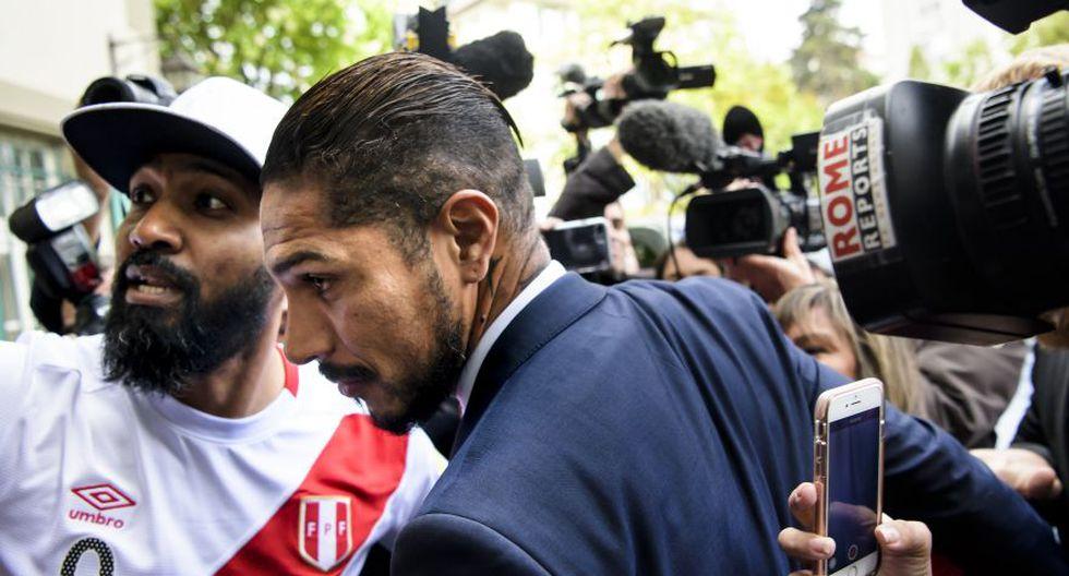 Paolo Guerrero en el TAS. (Fotos: Reuters y AP)