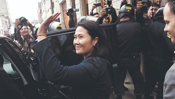 Revocada su prisión preventiva, Keiko Fujimori tendrá comparecencia con restricciones. (Foto: Miguel Bellido/Archivo El Comercio)