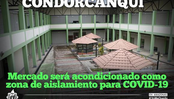 El recinto será acondicionado con 20 ambientes para que los casos sospechosos cumplan la cuarentena de 14 días.