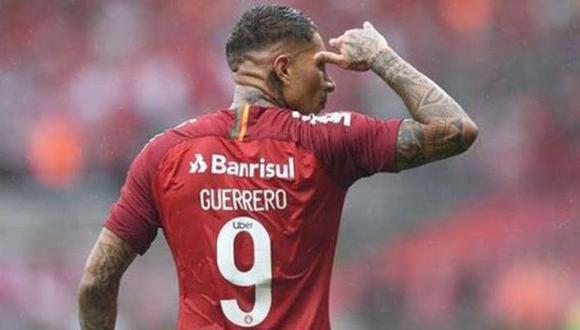 Paolo Guerrero lleva un gol en cinco partidos con el Inter este 2021. Hoy está fuera por una tendinitis en su rodilla operada. (Foto: AP)