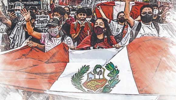 El Perú ingresa al año de conmemoración de su bicentenario sacudido, entre otras cosas, por una seguidilla de crisis políticas que registraron su punto más álgido en las movilizaciones ciudadanas de noviembre.