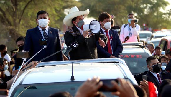 Transparencia recordó que las nuevas autoridades deben presentar su declaración jurada. (Foto: Twitter Presidencia del Perú)