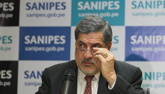 Ernesto Bustamante dirige el programa de Salud en el plan de gobierno de Fuerza Popular. (Foto: Alessandro Currarino | Archivo El Comercio)