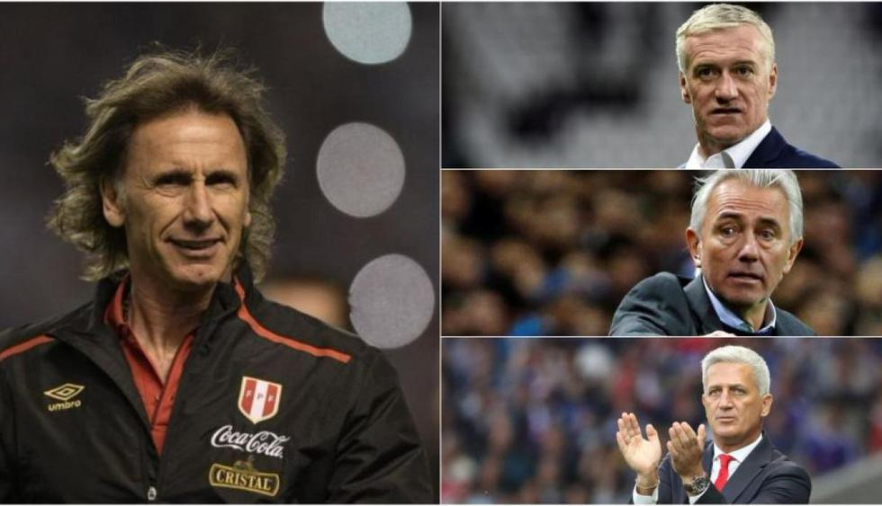 Ricardo Gareca, director técnico de la selección peruana, apareció en esta fabulosa lista que llegó a ser liderada por el entrenador que llenó de verguenza a 'Die Mannschaft'. (Foto: AP)