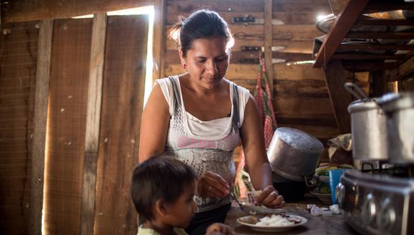 El Programa Articulado Nutricional de la Red de Salud Pacífico Norte ha recibido S/1.2 millones de presupuesto para atender a los niños afectados con la anemia (Foto: Karen Zárate/ archivo)