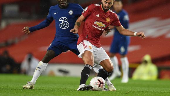 Bruno Fernandes tiene contrato con el Manchester United hasta el 2025. (Foto: Reuters)