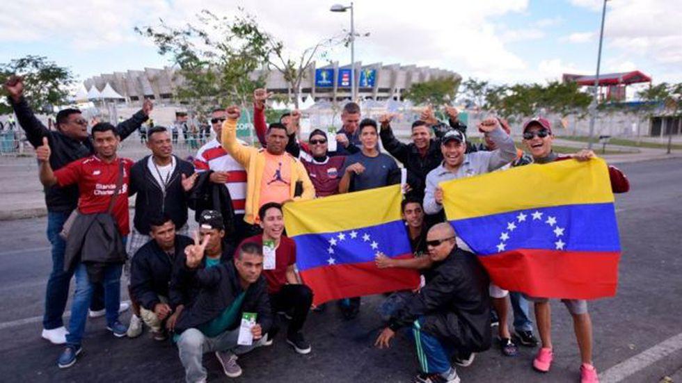 Bogotá es uno de los principales destinos de la migración venezolana. Foto: Getty images, vía BBC Mundo