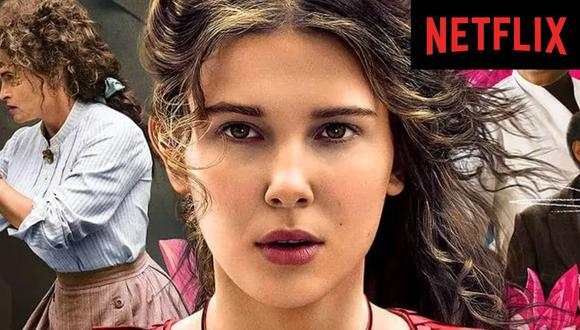 """""""Enola Holmes"""", que sigue las aventuras de la hermana pequeña de Sherlock Holmes, es el principal estreno del día en Netflix (Foto: Netflix)"""