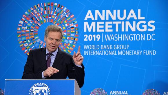 """""""A la vista de los riegos a la baja, pedimos tener planes por si se materializa un choque negativo"""", explicó el director para Europa del FMI, Poul Mathias Thomsen. (Foto: Reuters)"""