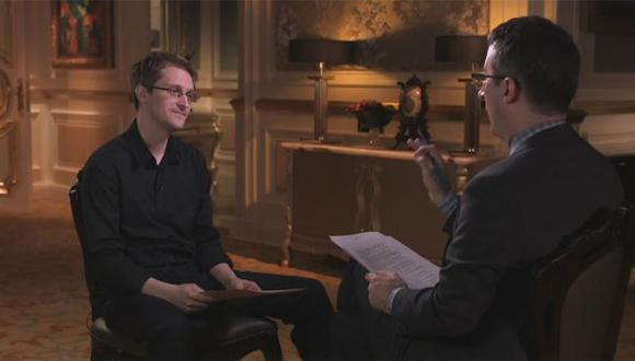 La insólita entrevista de un humorista a Edward Snowden [VIDEO]