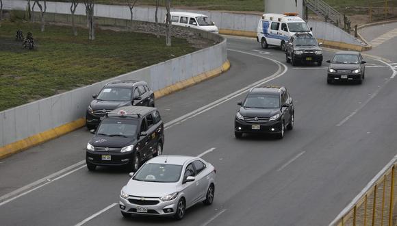 Solo pueden circular en vehículos particulares en caso de emergencia. (Fotos Violeta Ayasta / @photo.gec)