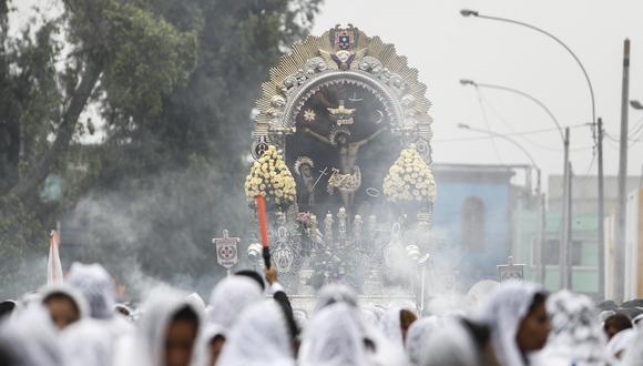 El Cristo de Pachacamilla visitará el hospital Arzobispo Loayza y el hospital San Bartolomé en su recorrido. (GEC)