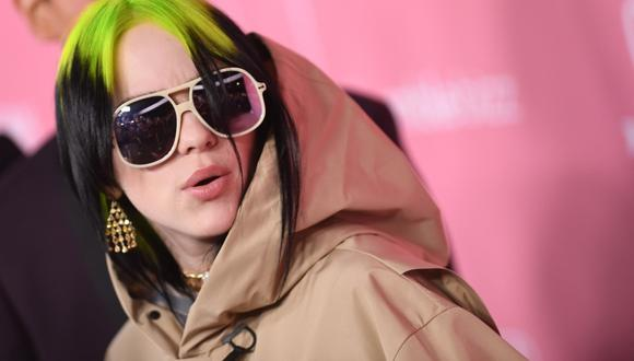 Billie Eilish pidió una orden de alejamiento contra un fan que acudía repetidamente a su casa. (Foto: AFP)