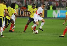 Perú vs. Colombia: día, hora y canal del partido por las Eliminatorias Qatar 2022