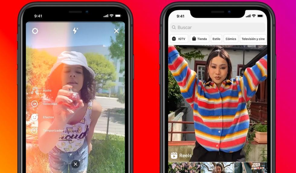 FOTO 1 DE 3   Instagram lanza Reels, el TIkTok de Facebook que te gustará usarlo de manera continua   Foto: Instagram (Desliza a la izquierda para ver más fotos)