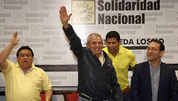 Luis Castañeda Lossio fue elegido para un tercer mandato en la alcaldía de Lima. (Foto: Andina)