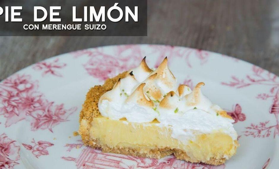 Pie de limón. (Foto: A comer)
