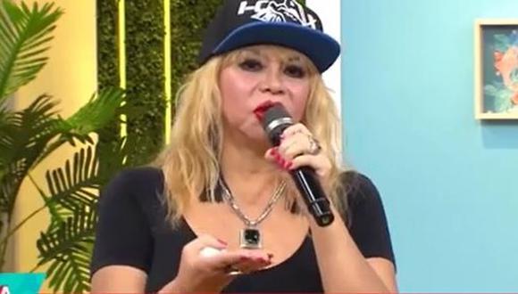 Susy Díaz reaparece y se quiebra al hablar de sus hermanos y sobrino fallecidos a causa del COVID-19. (Foto: captura de video).