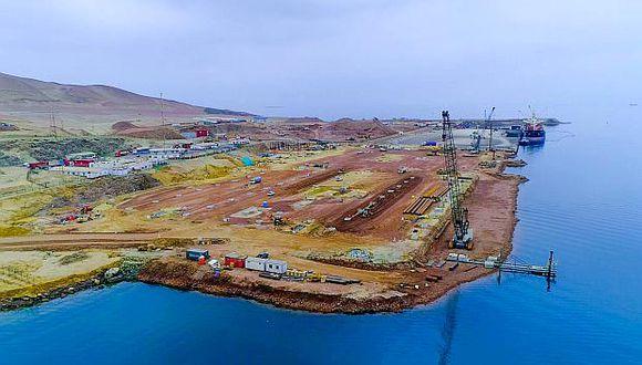 No se podrá exportar minerales desde el puerto. (Foto: GEC)