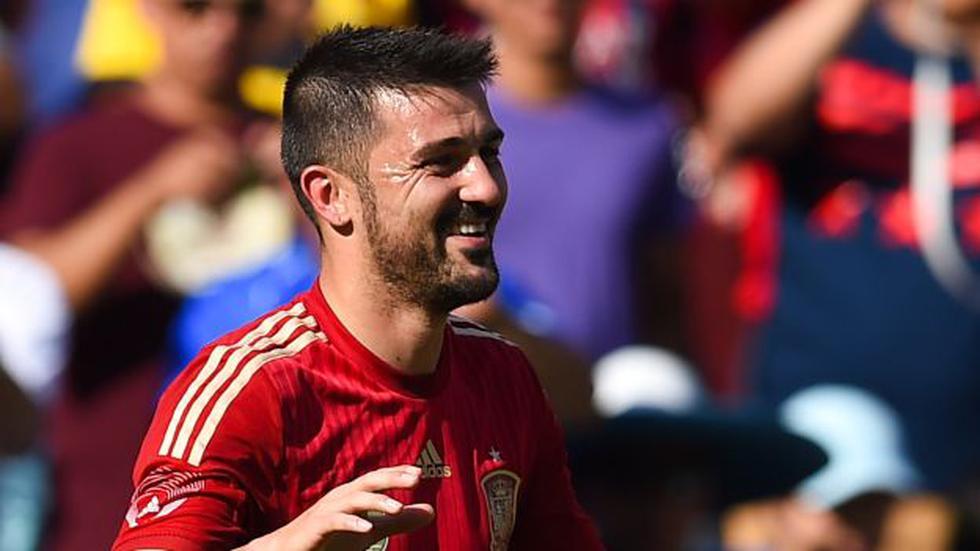 Villa anunció su retiro del fútbol. (Foto: AFP)