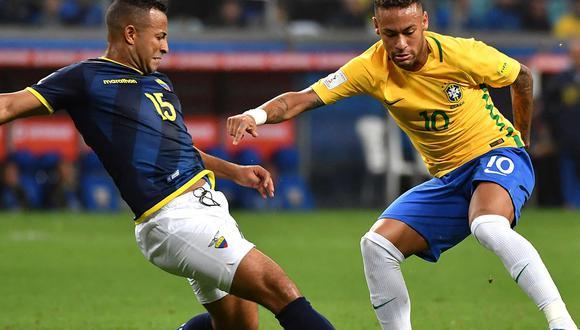 Ecuador vs Brasil en directo por la última jornada del Grupo B. | Foto: AFP
