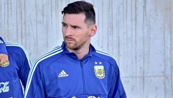 Lionel Messi regresó a la Albiceleste después de ocho meses. (Foto: AFP)