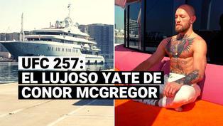 McGregor vs Poirier: el lujoso yate en el que llegó el irlandés a Abu Dhabi