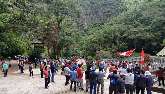 La Dirección de Cultura no se descarta evaluar el cierre del Santuario Inca de Machu Picchu, en caso la situación se complique. (Foto: Melissa Valdicia)